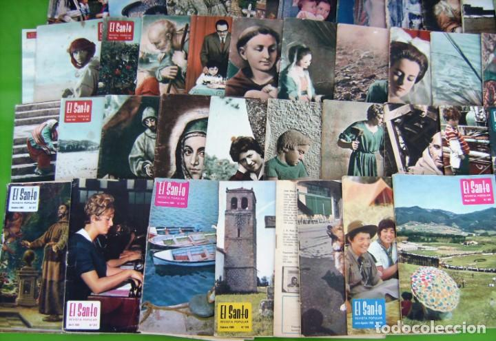 Coleccionismo de Revistas y Periódicos: Lote 35 El Santo (Revista mensual antoniana) 1962-1969 (y una del 59) - Foto 2 - 217758945