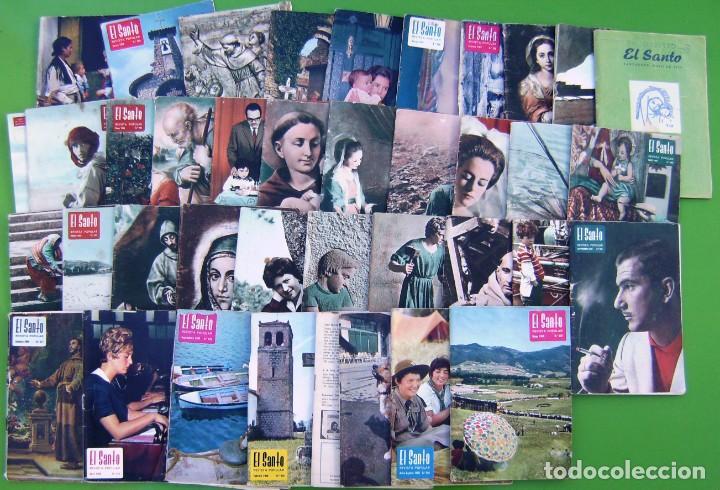 Coleccionismo de Revistas y Periódicos: Lote 35 El Santo (Revista mensual antoniana) 1962-1969 (y una del 59) - Foto 3 - 217758945