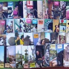 Coleccionismo de Revistas y Periódicos: LOTE 65 REVISTAS EL SANTO (REVISTA MENSUAL ANTONIANA) 1970-1976. Lote 217759023