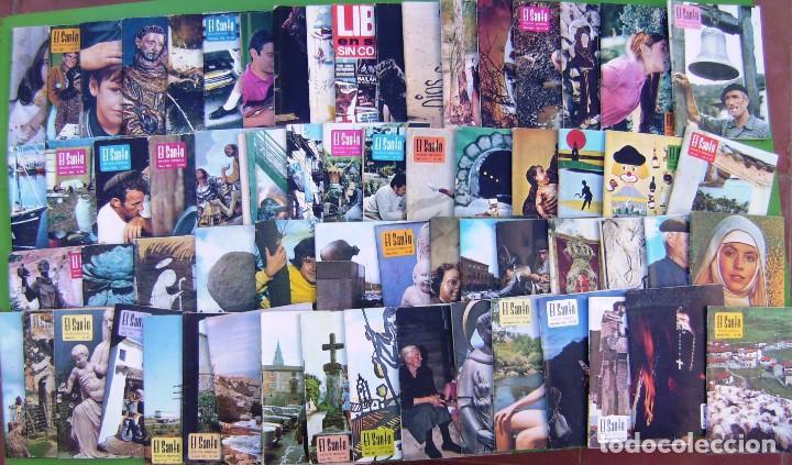 Coleccionismo de Revistas y Periódicos: Lote 65 revistas El Santo (Revista mensual antoniana) 1970-1976 - Foto 2 - 217759023