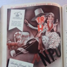 Coleccionismo de Revistas y Periódicos: REVISTA MUNDO HISPÁNICO AÑO 1950,TOMO ENCUADERNADO 11 EJEMPLARES ,FOTOS Y ARTÍCULOS.. Lote 217778115