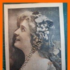 Colecionismo de Revistas e Jornais: ALREDEDOR DEL MUNDO Nº 845 9 AGOSTO 1915 - LOS SHRAPNELS POR DENTRO; CAMINO DE SANTIAGO VIA LACTEA;. Lote 217893632