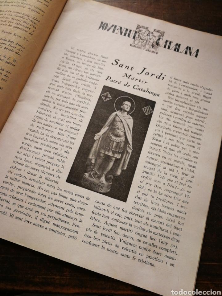 Coleccionismo de Revistas y Periódicos: REVISTA JOVENTUT CATALANA- ANY II, N°25.(BARCELONA) 1925. - Foto 3 - 217895062