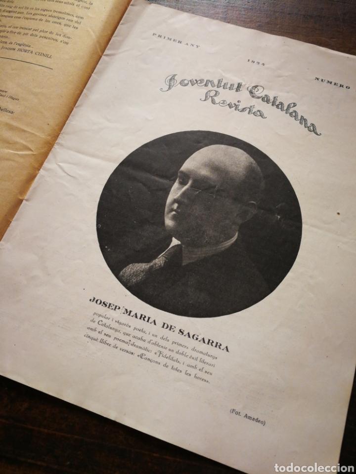 Coleccionismo de Revistas y Periódicos: REVISTA JOVENTUT CATALANA- ANY I, N°3.(BARCELONA) 1924. - Foto 3 - 217895757