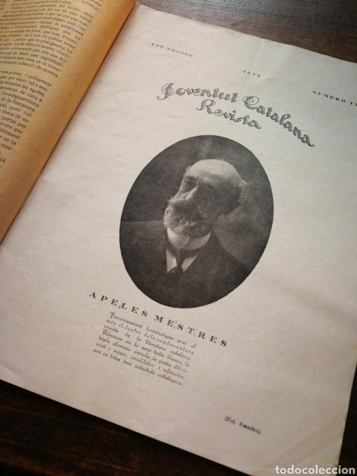 Coleccionismo de Revistas y Periódicos: REVISTA JOVENTUT CATALANA- ANY I, N°4.(BARCELONA) 1924. - Foto 3 - 217896040