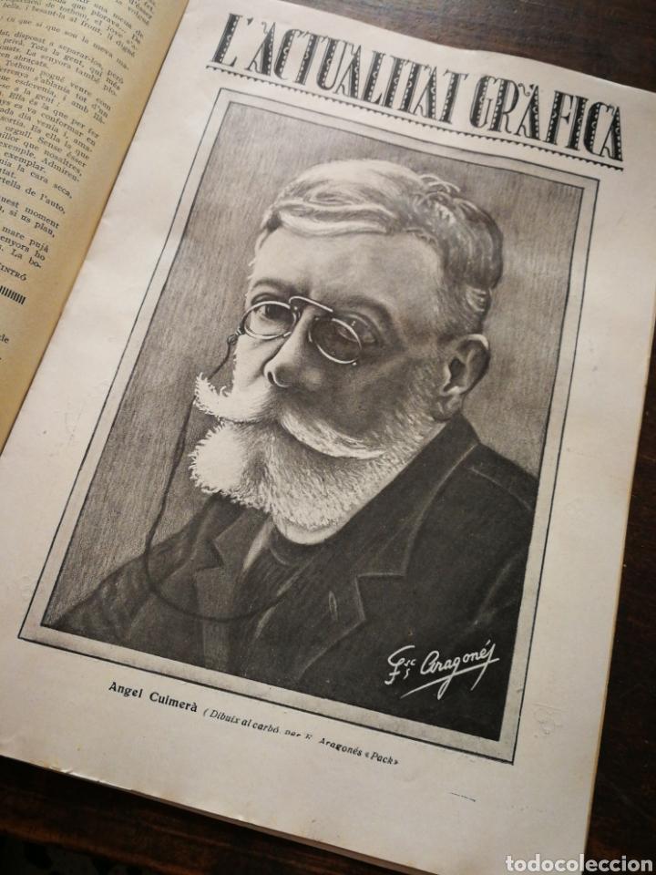 Coleccionismo de Revistas y Periódicos: REVISTA JOVENTUT CATALANA- HOMENATGE A ANGEL GUIMERÀ, ANY II, N°31.(BARCELONA) 1925. - Foto 3 - 217898158