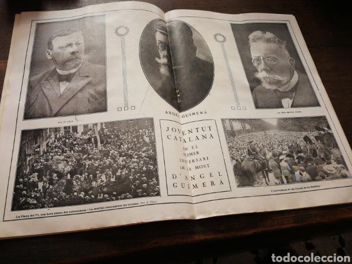 Coleccionismo de Revistas y Periódicos: REVISTA JOVENTUT CATALANA- HOMENATGE A ANGEL GUIMERÀ, ANY II, N°31.(BARCELONA) 1925. - Foto 4 - 217898158
