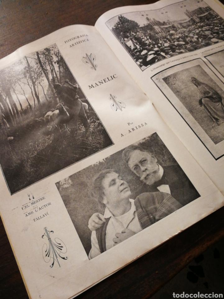 Coleccionismo de Revistas y Periódicos: REVISTA JOVENTUT CATALANA- HOMENATGE A ANGEL GUIMERÀ, ANY II, N°31.(BARCELONA) 1925. - Foto 5 - 217898158