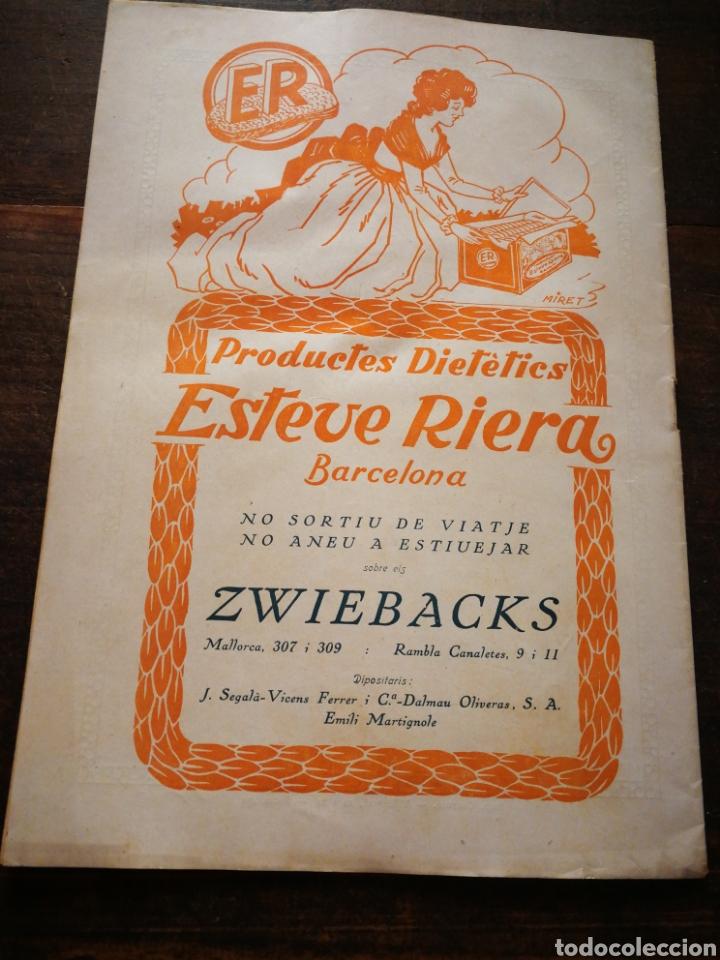 Coleccionismo de Revistas y Periódicos: REVISTA JOVENTUT CATALANA- HOMENATGE A ANGEL GUIMERÀ, ANY II, N°31.(BARCELONA) 1925. - Foto 6 - 217898158