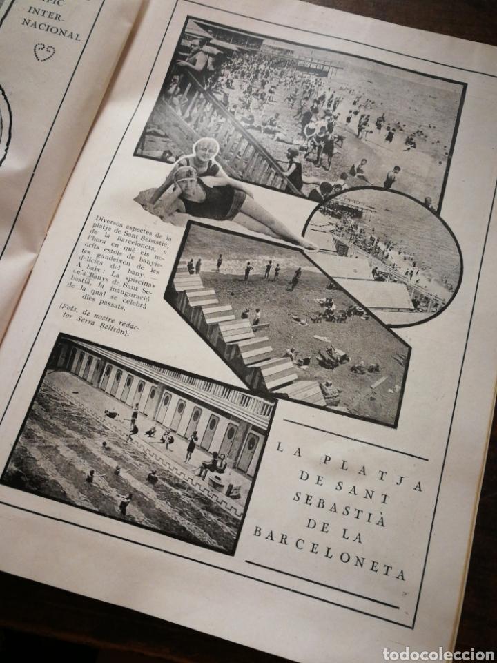 Coleccionismo de Revistas y Periódicos: REVISTA JOVENTUT CATALANA- PORTADA IGNASI IGLESIAS, ANY II, N°29.(BARCELONA) 1925. - Foto 5 - 217900810