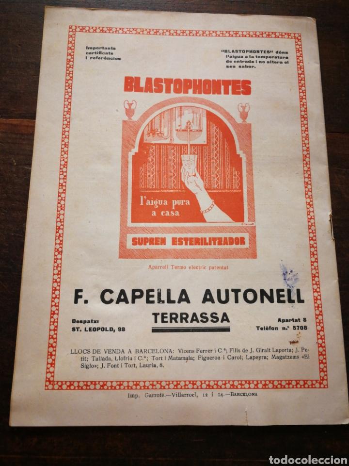Coleccionismo de Revistas y Periódicos: REVISTA JOVENTUT CATALANA- PORTADA IGNASI IGLESIAS, ANY II, N°29.(BARCELONA) 1925. - Foto 6 - 217900810