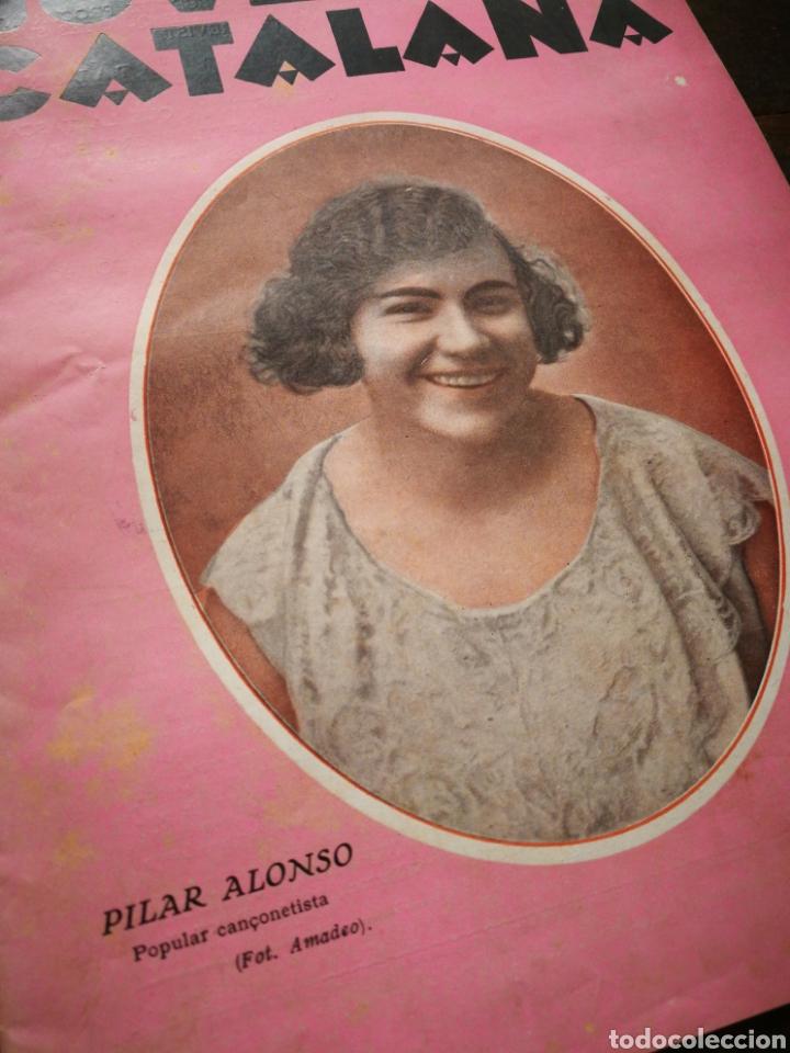 Coleccionismo de Revistas y Periódicos: REVISTA JOVENTUT CATALANA- PORTADA PILAR ALONSO, ANY II, N°30.(BARCELONA) 1925. - Foto 2 - 217901128