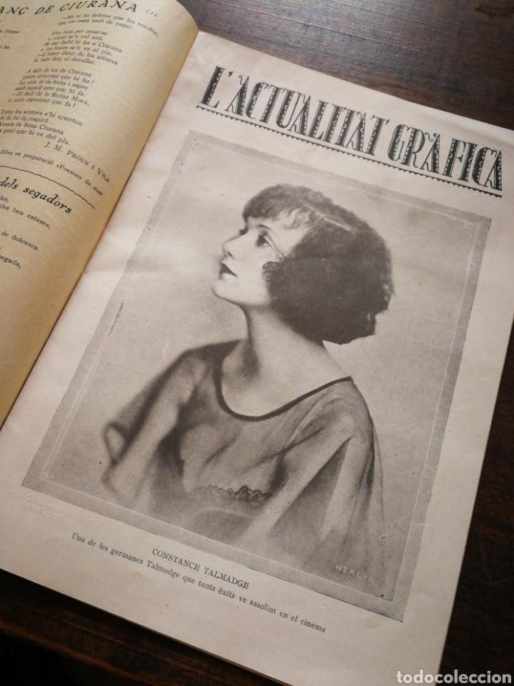 Coleccionismo de Revistas y Periódicos: REVISTA JOVENTUT CATALANA- PORTADA PILAR ALONSO, ANY II, N°30.(BARCELONA) 1925. - Foto 3 - 217901128
