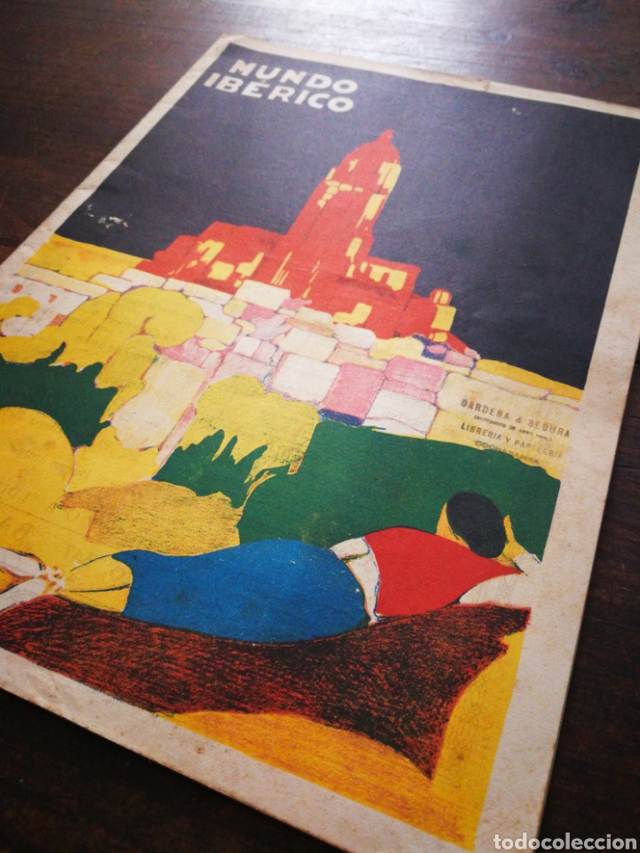 Coleccionismo de Revistas y Periódicos: MUNDO IBÉRICO- REVISTA QUINCENAL ILUSTRADA (MARIO VERDAGUER), AÑO I, N°1,1927. DIFÍCIL!!!. - Foto 2 - 217922302