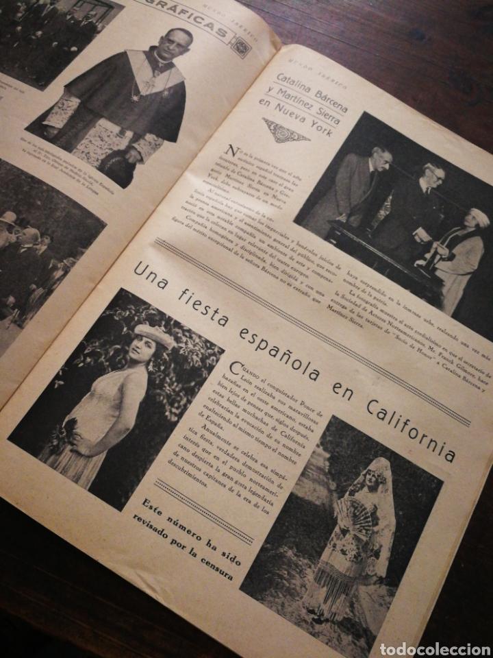 Coleccionismo de Revistas y Periódicos: MUNDO IBÉRICO- REVISTA QUINCENAL ILUSTRADA (MARIO VERDAGUER), AÑO I, N°1,1927. DIFÍCIL!!!. - Foto 4 - 217922302
