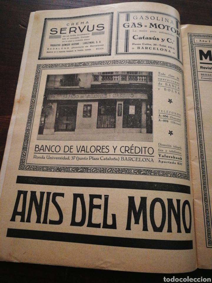 Coleccionismo de Revistas y Periódicos: MUNDO IBÉRICO- REVISTA QUINCENAL ILUSTRADA (MARIO VERDAGUER), AÑO I, N°1,1927. DIFÍCIL!!!. - Foto 5 - 217922302