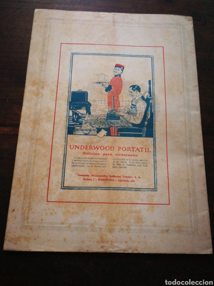 Coleccionismo de Revistas y Periódicos: MUNDO IBÉRICO- REVISTA QUINCENAL ILUSTRADA (MARIO VERDAGUER), AÑO I, N°1,1927. DIFÍCIL!!!. - Foto 6 - 217922302