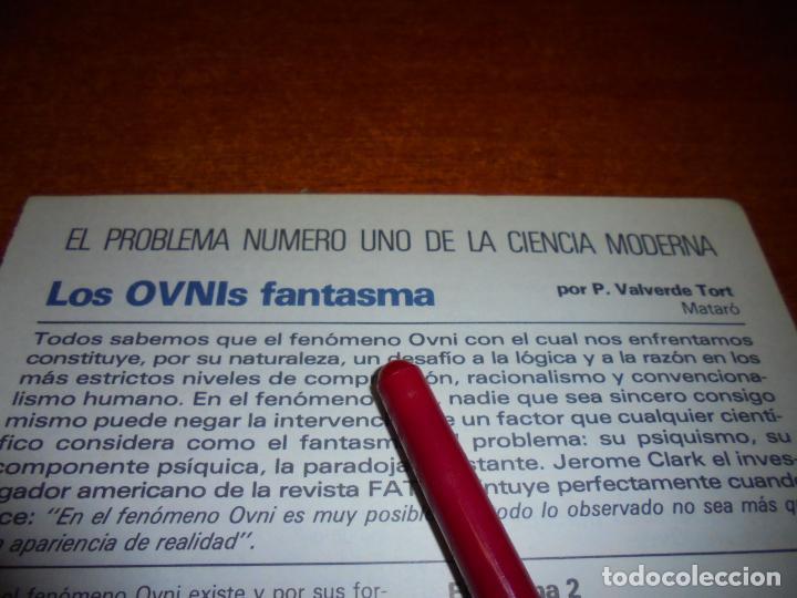 Coleccionismo de Revistas y Periódicos: RETAL 1980: LOS OVNI FANTASMA - Foto 2 - 217958236