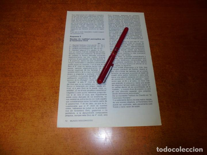 Coleccionismo de Revistas y Periódicos: RETAL 1980: LOS OVNI FANTASMA - Foto 3 - 217958236