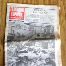 Coleccionismo de Revistas y Periódicos: CORREO ESPAÑOL EL PUEBLO VASCO - EDICIÓN ESPECIAL SOBRE LAS INUNDACIONES DE 1983. Lote 217962588