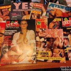 Coleccionismo de Revistas y Periódicos: LOTE REVISTAS EROTICAS. Lote 217985693