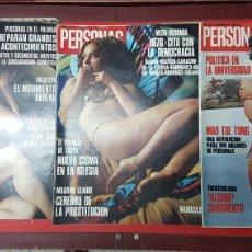 Coleccionismo de Revistas y Periódicos: LOTE REVISTAS PERSONAS. Lote 218081901