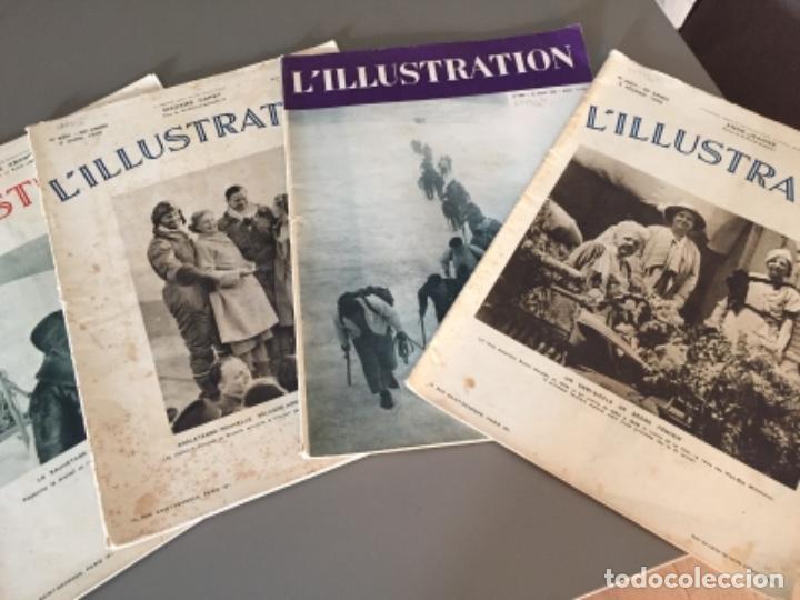 L'ILLUSTRATION, 6 EJEMPLARES (Coleccionismo - Revistas y Periódicos Antiguos (hasta 1.939))