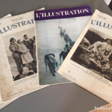 Coleccionismo de Revistas y Periódicos: L'ILLUSTRATION, 6 EJEMPLARES. Lote 218160226