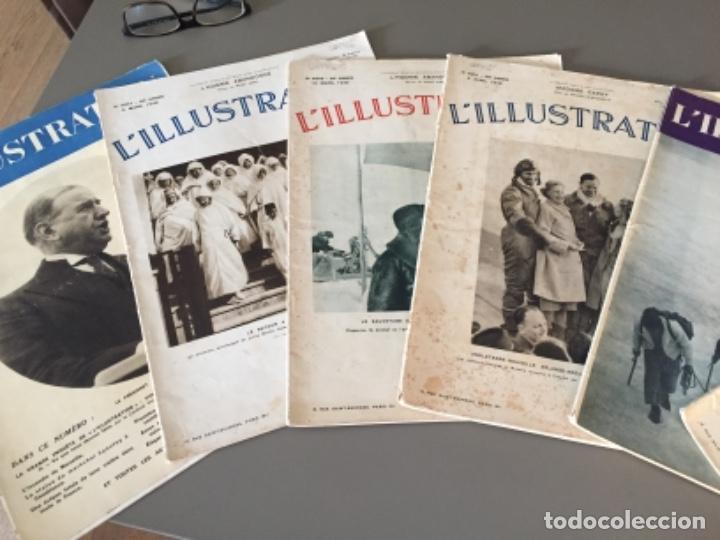 Coleccionismo de Revistas y Periódicos: L'illustration, 6 ejemplares - Foto 2 - 218160226