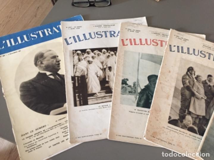 Coleccionismo de Revistas y Periódicos: L'illustration, 6 ejemplares - Foto 3 - 218160226
