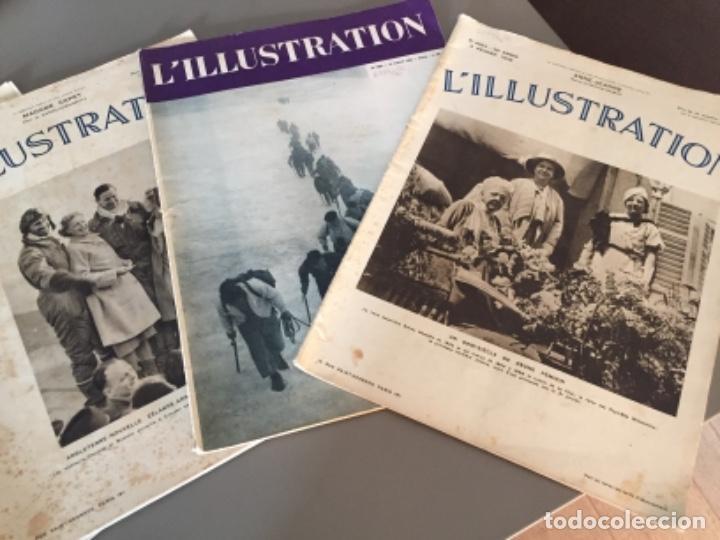 Coleccionismo de Revistas y Periódicos: L'illustration, 6 ejemplares - Foto 4 - 218160226