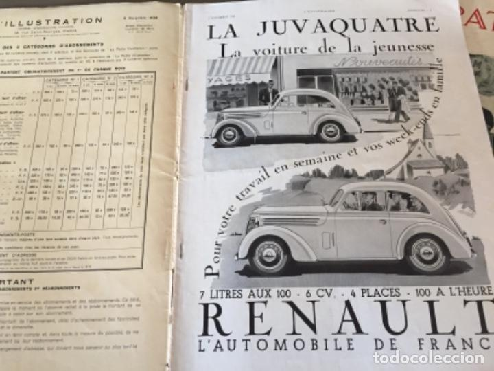 Coleccionismo de Revistas y Periódicos: L'illustration, 6 ejemplares - Foto 11 - 218160226