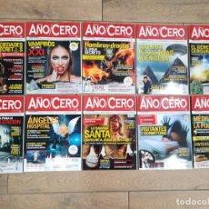 Coleccionismo de Revistas y Periódicos: LOTE 10 REVISTAS AÑO CERO - NUEVAS A ESTRENAR. Lote 218186108