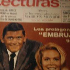Coleccionismo de Revistas y Periódicos: ELIZABETH MONTGOMERY FARRAH DIVA ESTER GUERRERO MARILYN MONROE JOHNNY HALLYDAY CLAUDE FRANÇOIS 1967. Lote 218208920