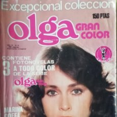 Coleccionismo de Revistas y Periódicos: FOTONOVELA OLGA GRAN COLOR NÚM 9. CONTIENE 3 FOTONOVELAS. Lote 218222727