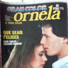 Coleccionismo de Revistas y Periódicos: FOTONOVELA ORNELA GRAN COLOR NÚM 103. Lote 218223232