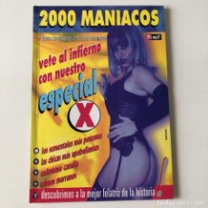 Coleccionismo de Revistas y Periódicos: 2000 MANIACOS NUMERO 18 . MARZO 1997 . ESPECIAL X. Lote 218228641