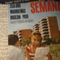 Coleccionismo de Revistas y Periódicos: HERVE VILARD SOLEDAD MIRANDA CHARLES CHAPLIN 1966. Lote 218229513