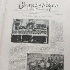 Coleccionismo de Revistas y Periódicos: VIAJE DE ALFONSO XIII A ASTURIAS , SANTANDER , SAN SEBASTIAN ,PAMPLONA. AÑO 1902 .4 PAGINAS. Lote 218243886