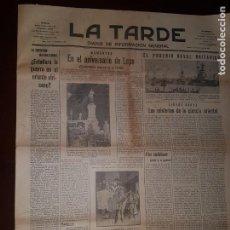 Coleccionismo de Revistas y Periódicos: PERIÓDICO LA TARDE - SANTA CRUZ DE TENERIFE - 5 DE SEPTIEMBRE DE 1935. Lote 218280857