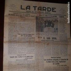 Coleccionismo de Revistas y Periódicos: PERIÓDICO LA TARDE - SANTA CRUZ DE TENERIFE - 7 DE SEPTIEMBRE DE 1935. Lote 218281710
