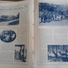 Coleccionismo de Revistas y Periódicos: LOS NIÑOS DE LA REINA ELENA PINTSCH . 3 PAGINAS . AÑO 1914 .. Lote 218300540