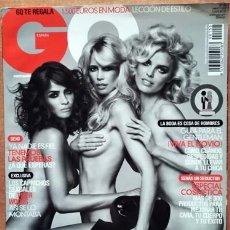 Coleccionismo de Revistas y Periódicos: REVISTA GQ CLAUDIA SCHIFFER. Lote 218441608