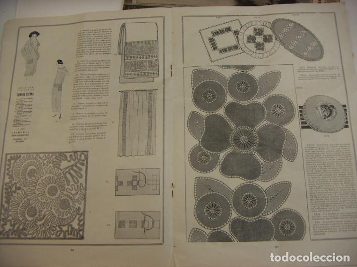 Coleccionismo de Revistas y Periódicos: REVISTA PARISIENSE. LA MODA ELEGANTE.Nº 7. 1924. DIRECTOR N. NAVASCUES. CONTIENE PATRONES - Foto 4 - 218485281