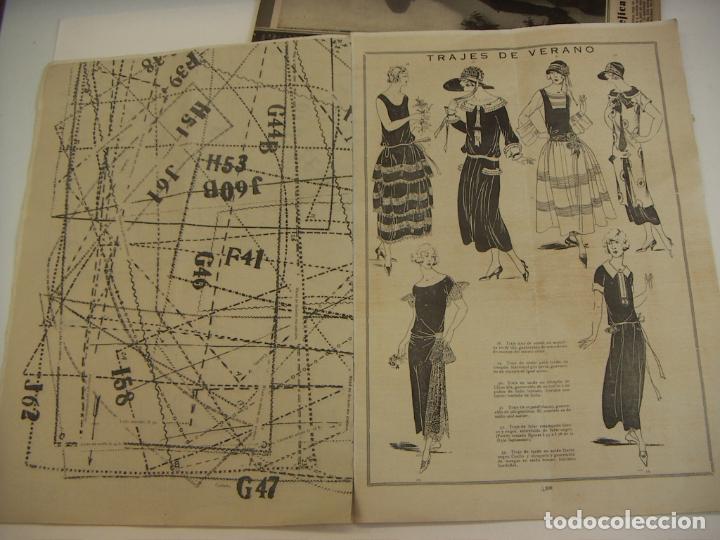 Coleccionismo de Revistas y Periódicos: REVISTA PARISIENSE. LA MODA ELEGANTE.Nº 7. 1924. DIRECTOR N. NAVASCUES. CONTIENE PATRONES - Foto 6 - 218485281