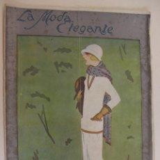 Coleccionismo de Revistas y Periódicos: REVISTA PARISIENSE. LA MODA ELEGANTE.Nº 7. 1924. DIRECTOR N. NAVASCUES. CONTIENE PATRONES. Lote 218485281