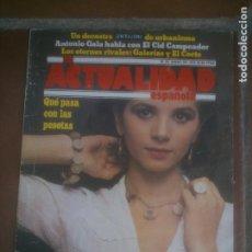Coleccionismo de Revistas y Periódicos: REVISTA LA ACTUALIDAD ESPAÑOLA.1978.. Lote 218522468