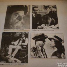 Coleccionismo de Revistas y Periódicos: RECORTABLES REVISTA ANTIGUO 1967. Lote 218540842