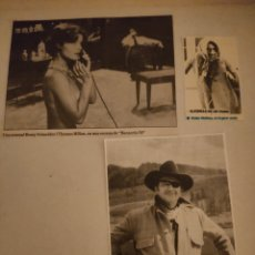 Coleccionismo de Revistas y Periódicos: RECORTABLES CINE ANTIGUOS 1967. Lote 218541782