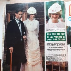 Coleccionismo de Revistas y Periódicos: LADY DI DIANA DE GALES EN CANADA. Lote 218600712